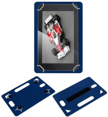 ACM Back Cover for Xolo Play 7.0 Xtw800(Blue, Grip Case, Artificial Leather)