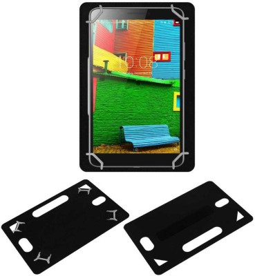 ACM Back Cover for Lenovo Phab 6.98(Black, Grip Case, Artificial Leather)