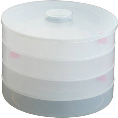 Beezy The Kitchen Queen Sprout Maker Medium 3  - 1000 ml Plastic Grocery Container(White)  available at flipkart for Rs.221