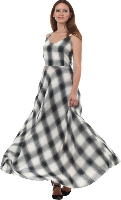 Lady Stark Women Maxi Multicolor Dress