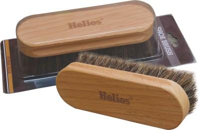 Helios Horse Hair Shoe Brush(100 ml, Brown)