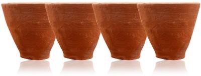 shriyam craft Desi Kullued - Set of 4 Using For Tea Showpiece  -  4 cm(Terracotta, Brown)  available at flipkart for Rs.149
