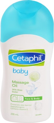 Cetaphil With Shea Butter Baby Massage oil, 200 ML