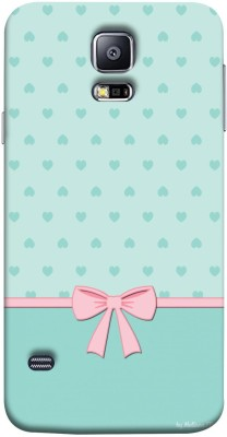 Mystry Box Back Cover for Samsung Galaxy S5 i9600(Blue Hearts, Flexible Case) Flipkart