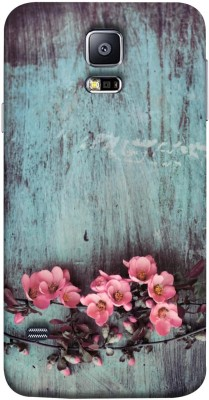 Mystry Box Back Cover for Samsung Galaxy S5 i9600(Floral Wall, Flexible Case) Flipkart