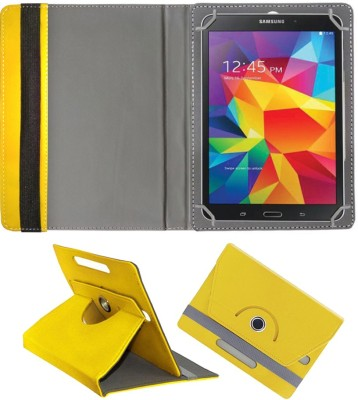 Fastway Book Cover for Samsung Galaxy Tab 4 8.0(Yellow, Cases with Holder)