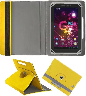 Fastway Book Cover for Icemobile G2 Tablet(Yellow)