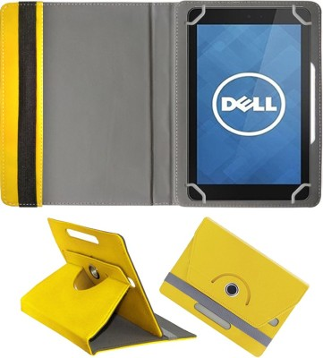Fastway Book Cover for Dell Streak 7(Yellow, Artificial Leather)