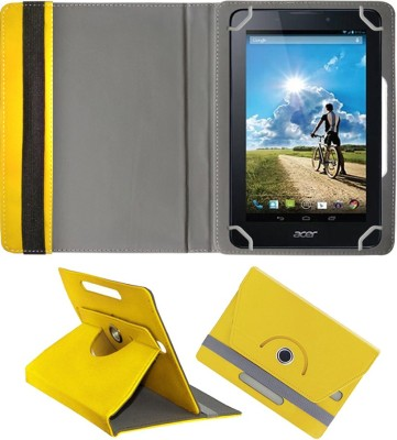 Fastway Book Cover for Acer Iconia Tab 7 A1-713HD(Yellow)