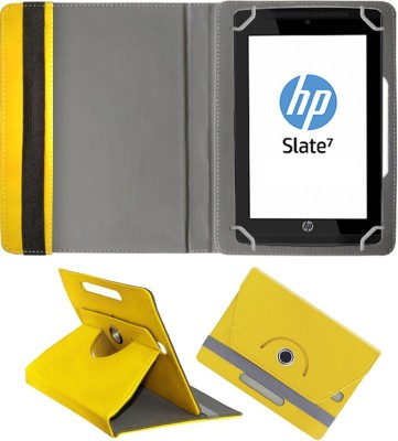 Fastway Book Cover for HP Slate7 VoiceTab Ultra(Yellow)