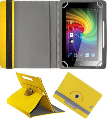 Fastway Book Cover for Micromax Funbook Alpha P250(Yellow)