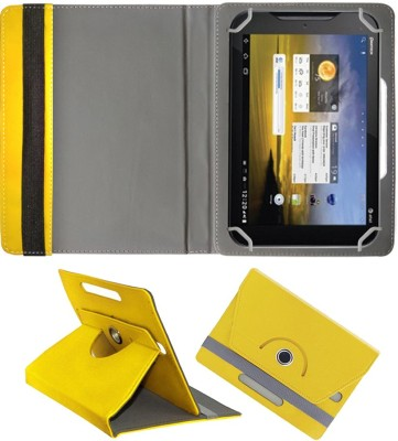 Fastway Book Cover for ZTE V9+(Yellow)