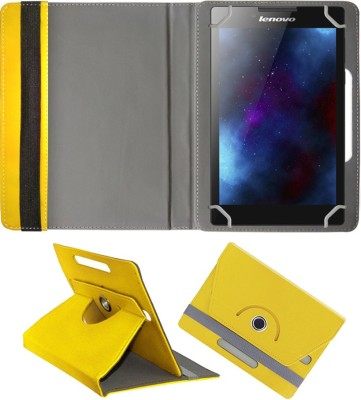 Fastway Book Cover for Lenovo IdeaPad A1(Yellow)