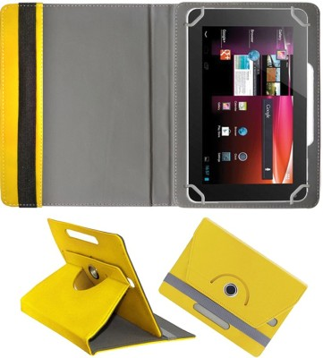 Fastway Book Cover for Alcatel POP 7S(Yellow)