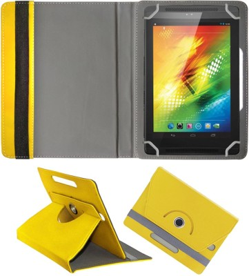 Fastway Book Cover for Xolo Play Tab 7.0 XTW800(Yellow, Artificial Leather)