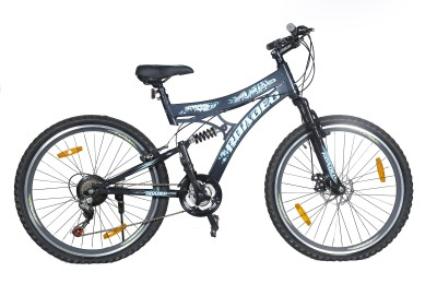 Hercules Roadeo A200 26 T 21 Speed Mountain Cycle(Grey)  available at flipkart for Rs.7608