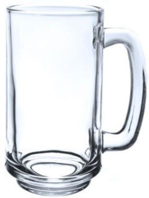 Megalite  Pack of 2  KTBZ 07 Glass Set 400 ml, Glass Megalite Bar Glasses