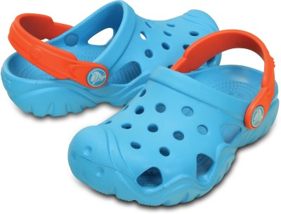 Crocs Boys & Girls Slip-on Clogs(Blue)