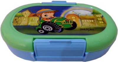 Milton Slido   Green 2 Containers Lunch Box Milton Lunch Boxes