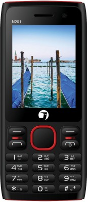 JIVI N201 Selfie Black   Red