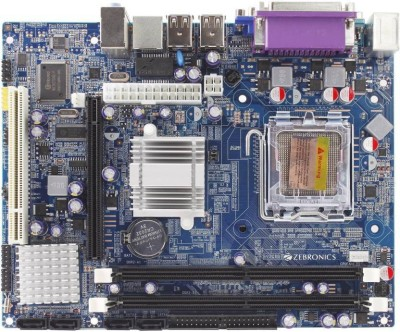 ZEBRONIC G31 Supported Socket 775 RAM DDR2 Motherboard