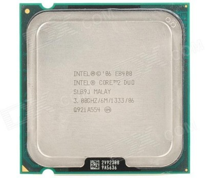 Intel 3 GHz LGA 775 e8400(oem pack)+THERMAL PASTE WITH THREE YEAR WARRANTY BY SST2017(SELLER) Processor(Silver)