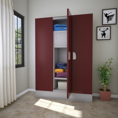 Godrej Interio Slimline WL Metal Almirah(Finish Color - Russet)