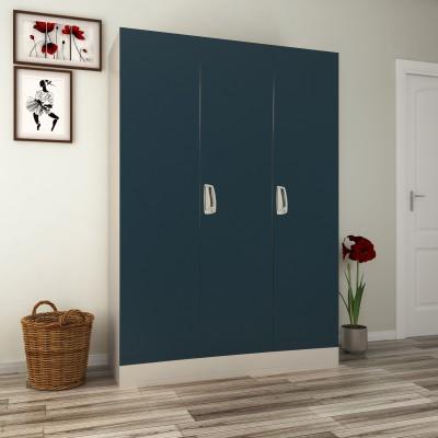 2e07616f0 Godrej Interio Slimline 3 WL Metal Almirah(Finish Color - Pacific Blue)