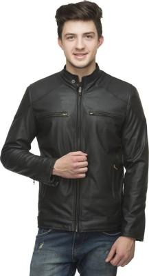 myfizi Full Sleeve Solid Men's Jacket