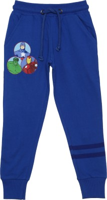 Avenger Track Pant For Boy's(Blue Pack of 1)