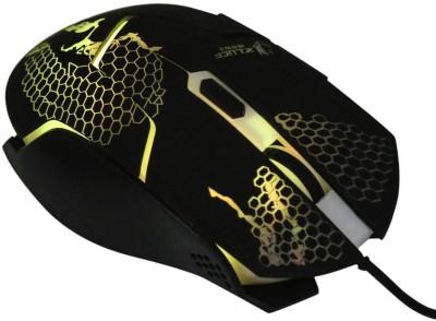 DARK EDGE XM505 Wired Optical  Gaming Mouse(USB, Black) at flipkart