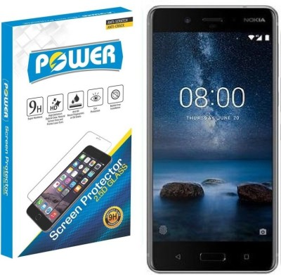 Power Tempered Glass Guard for Nokia 8(Pack of 1)