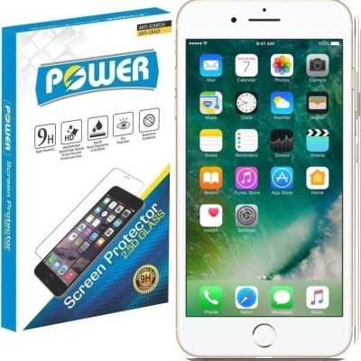 Power Tempered Glass Guard for Apple iPhone 6, Apple iPhone 6s, Apple iPhone 7(Pack of 1)
