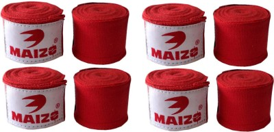 Maizo MHW Red 180 4 Set Red Boxing Hand Wrap(Red, 120 inch)
