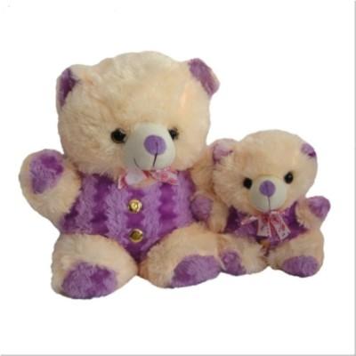 Aparnas teddybear soft plush stuffed toy purple for kids love girl   28 inch Purple