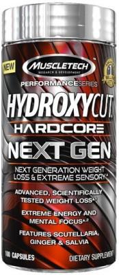 Muscletech Hydroxycut Hardcore Next Gen, 100 Capsules Unflavoured