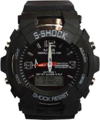GOOD FRIENDS S SHOCK SMALL BLACK Analog Digital Watch   For Boys   Girls GOOD FRIENDS Wrist Watches