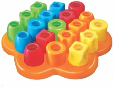 Playmate Activity Block 21 pcs   Early Skill development blocks. Age 2 to 5 Years Multicolor