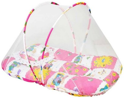 Fly Kids Cotton Adults Perfect Cotton Mosquito Net(Multicolor)