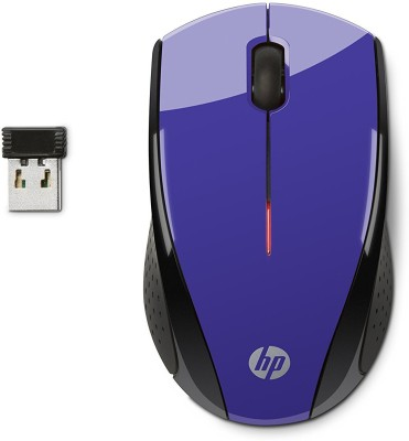 HP X3000 Wireless Optical Mouse(USB, Purple / Black)  available at flipkart for Rs.699