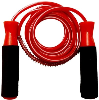 Parbat Ball Bearing Red Ball Bearing Skipping Rope(Red, Pack of 1)  available at flipkart for Rs.120