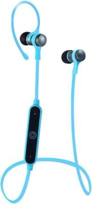Flipfit Bluetooth Wireless Handfree, Headset, Earphones, Ear Leads, Bluetooth Wireless Earphones, Handsfree (Blue) Headphone(Blue, In the Ear) 1