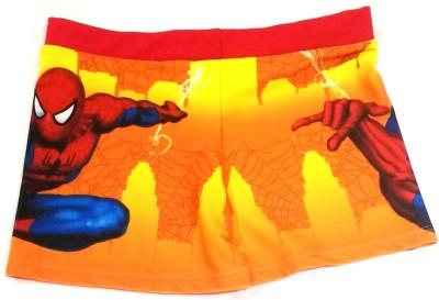 Velour Shoppe Spiderman Swim Short Graphic Print Boys Swimsuit