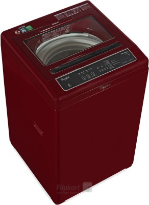 Whirlpool STAINWASH ULTRA 6.5 Kg TL Fully Automatic Top Load Washing Machine (Wine)