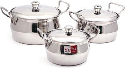 502fed8e4 50% OFF on KCL Armor Induction Bottom Cookware Set(Stainless Steel ...