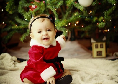 Christmas Baby Images Hd.Cute Littly Baby Christmas Day Wall Poster 12 18 Inch Hd Quality Material Gloss Paper Paper Print 12 Inch X 18 Inch Rolled