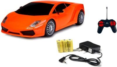 Miss & Chief Mini Racing 4 Channel Radio control RC Car, Orange(Orange)