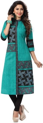 Sharvi Cotton Printed Dress/Top Material(Un-stitched)