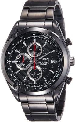 Seiko SSB179P1 Dress Analog Black Dial Men's Watch (SSB179P1)