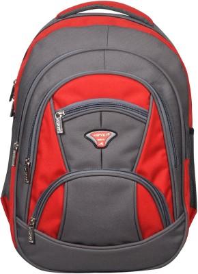 Spyki NP44 Waterproof School Bag(Red, 35 L)